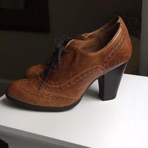 BORN loafer heels